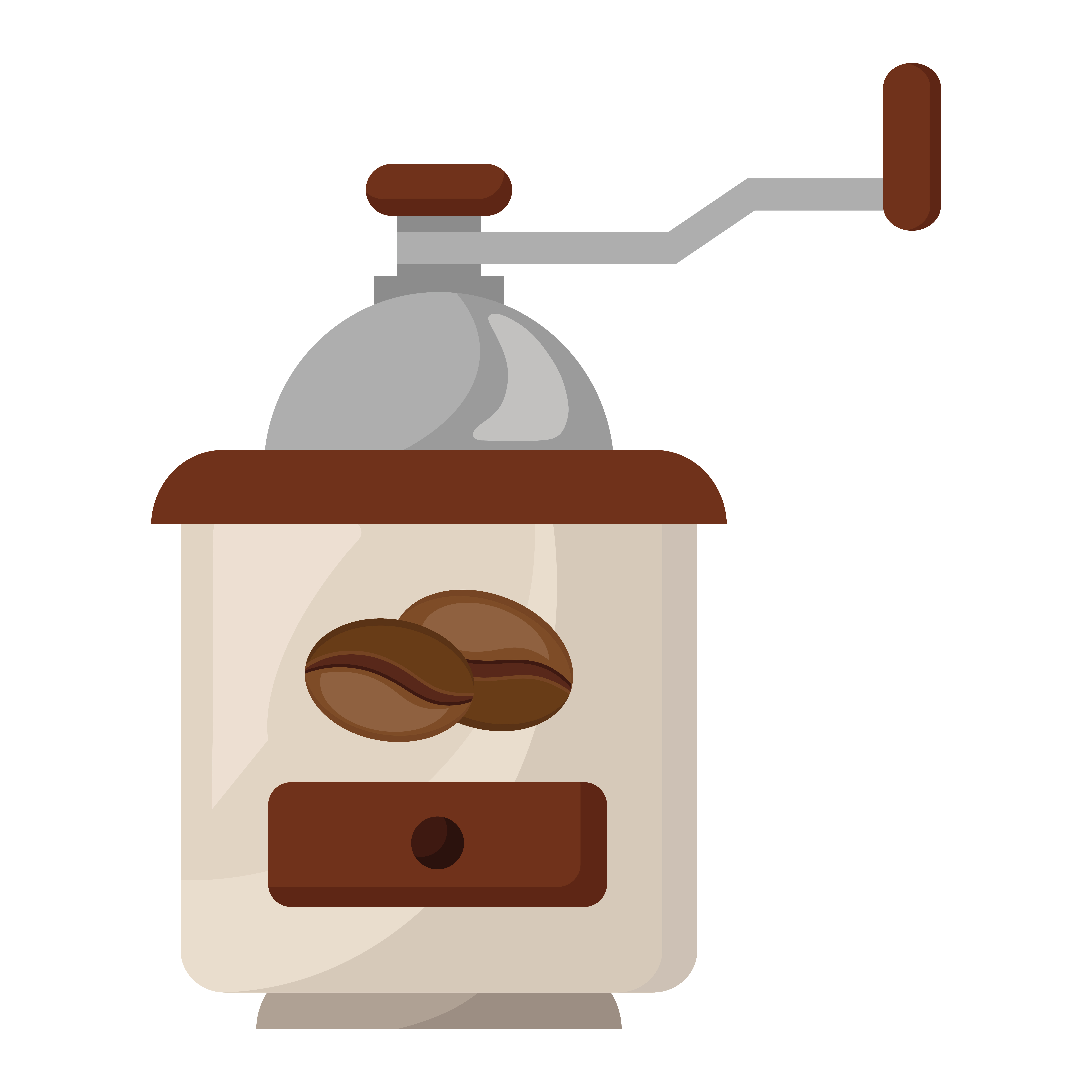 Coffee Toaster With Seeds Grains 1932084 Download Free Vectors Clipart Graphics Vector Art