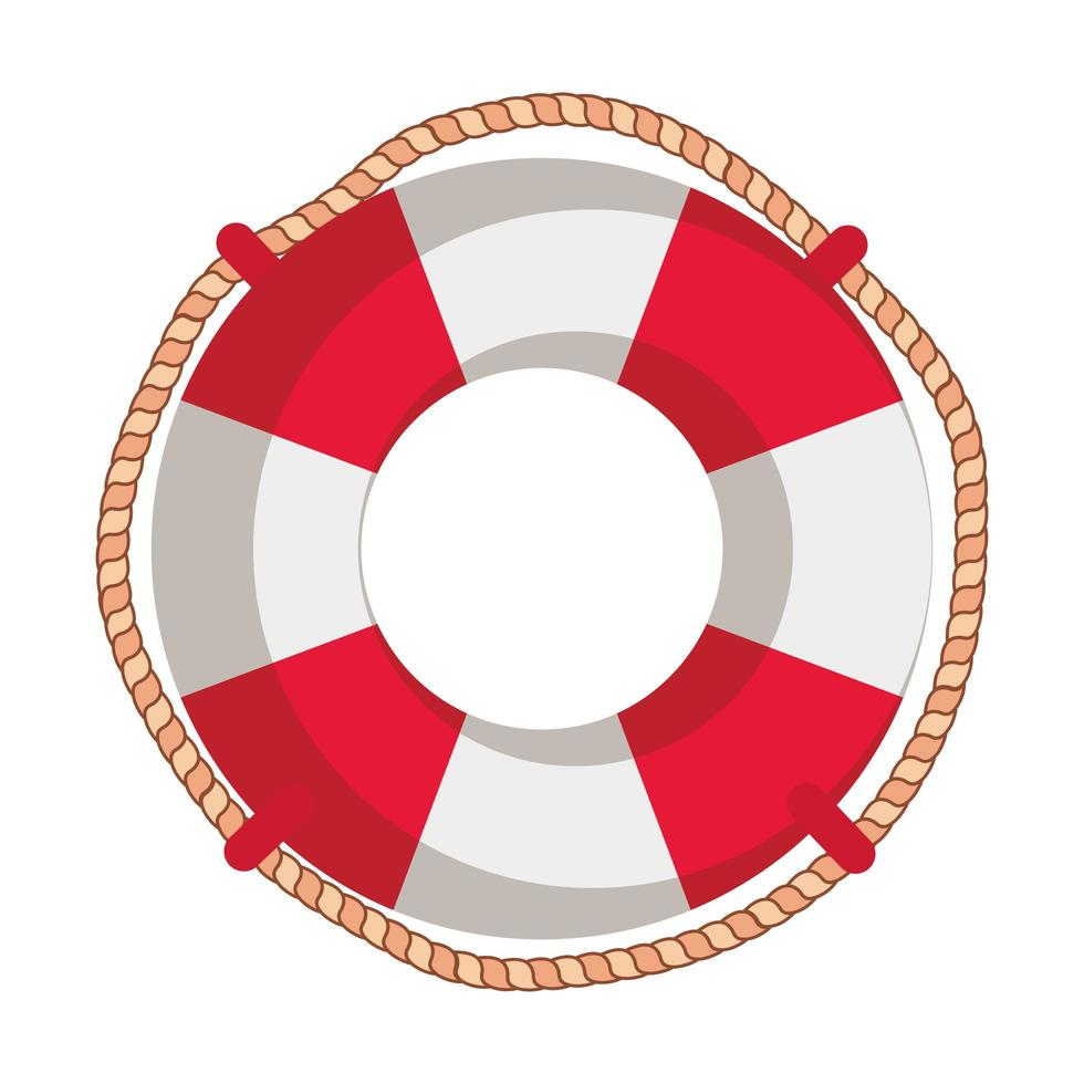 marine float ship isolated icon vector