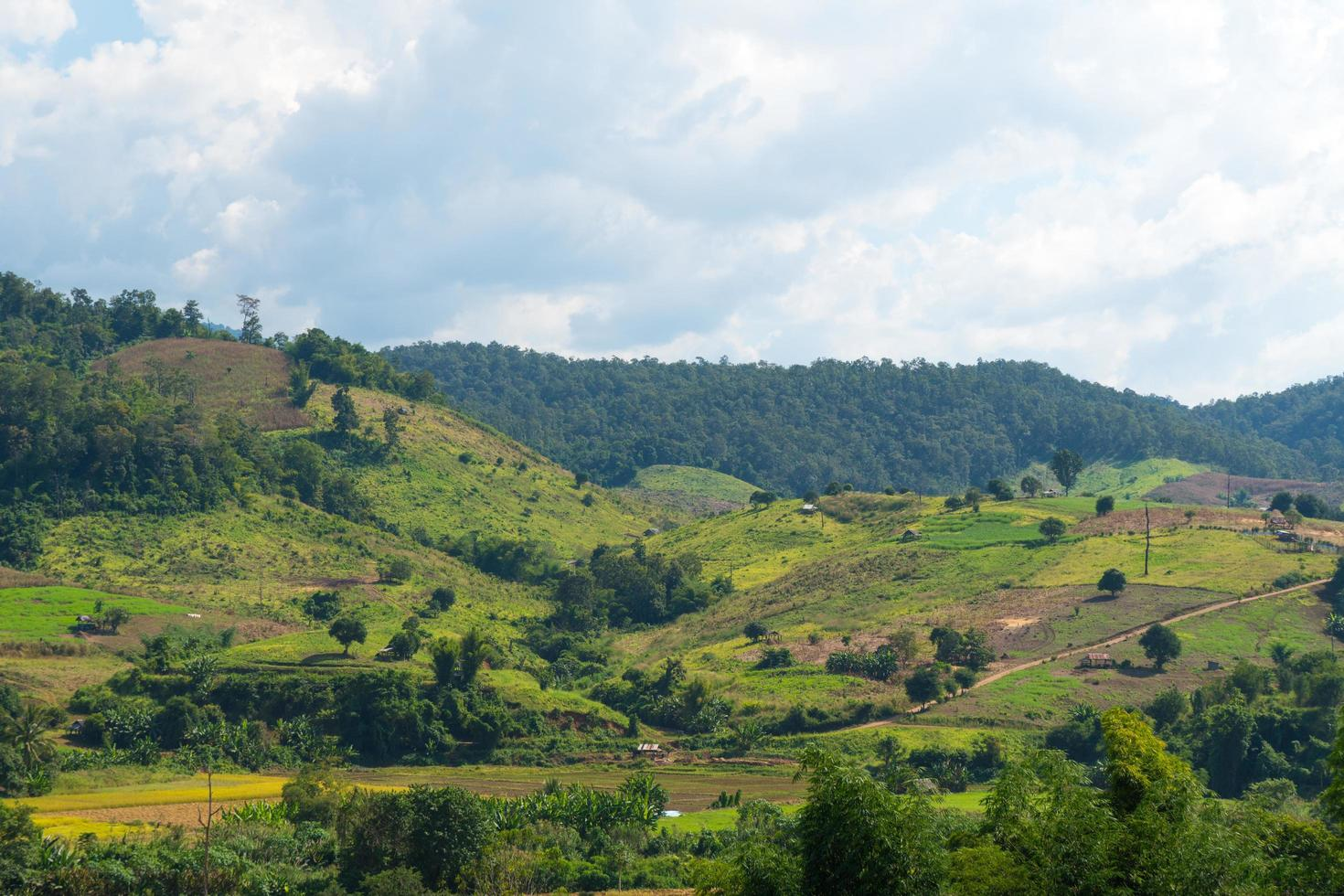 paisaje en tailandia foto