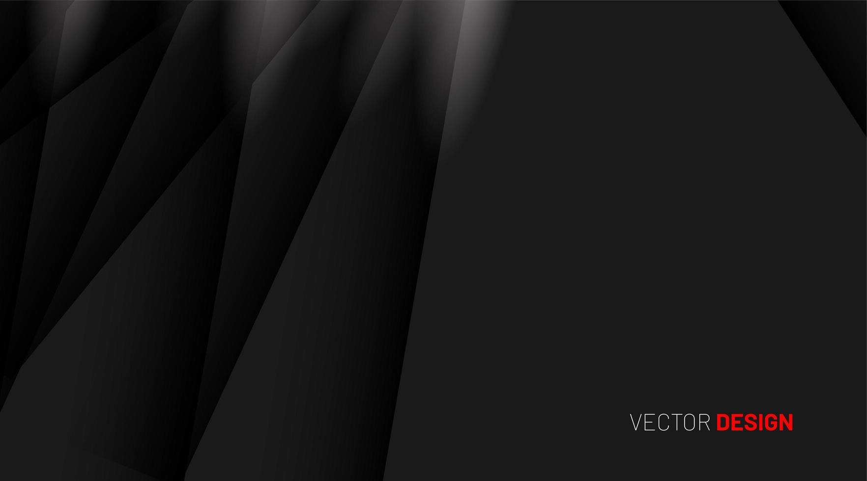 Overlapping shadow shapes 3D design technology background vector