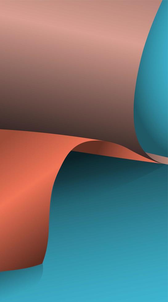 Ilustración vectorial de papel 3d y patrón de textura con sombra vector