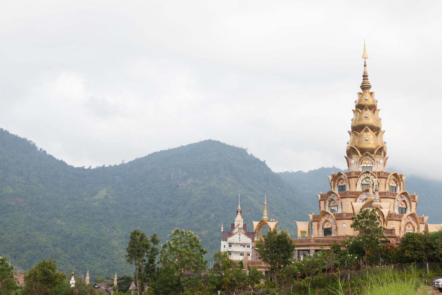 Buddhist temple in Wat Pha, Thailand photo