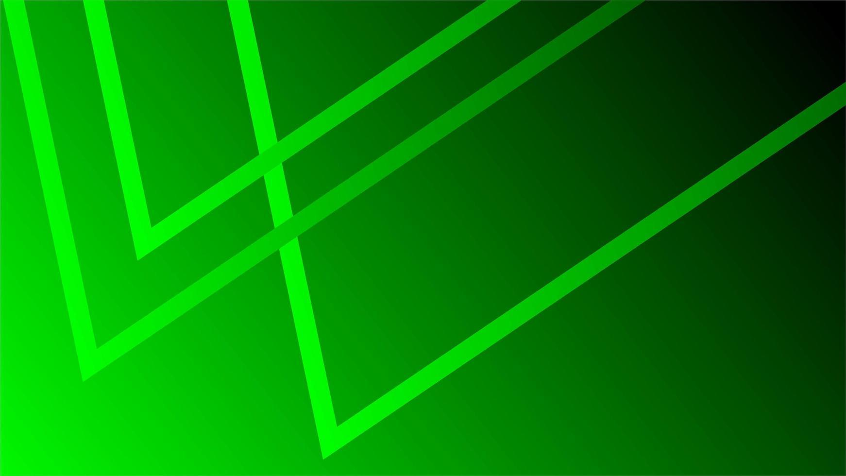 fondo verde neón vector
