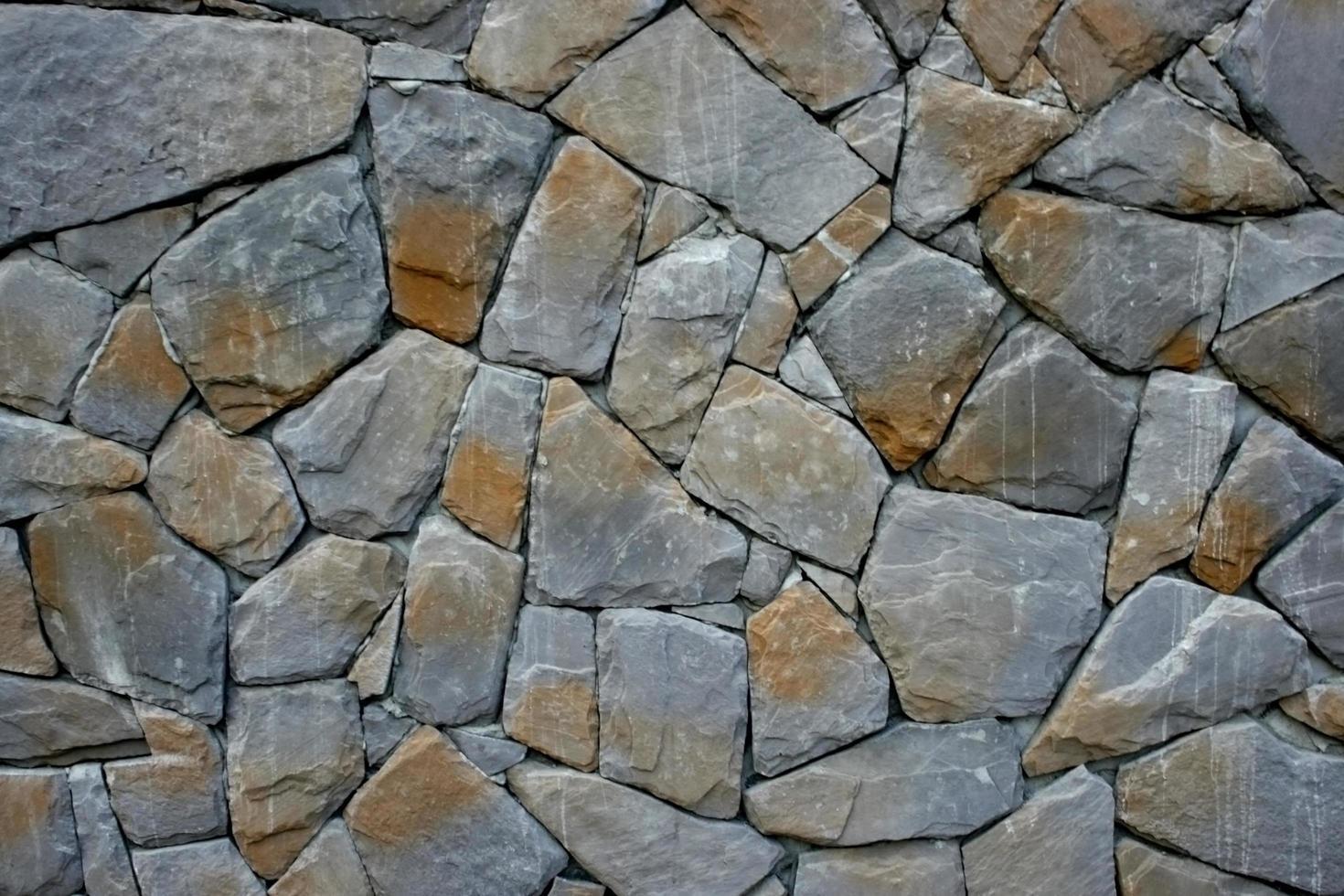muro de piedra natural foto