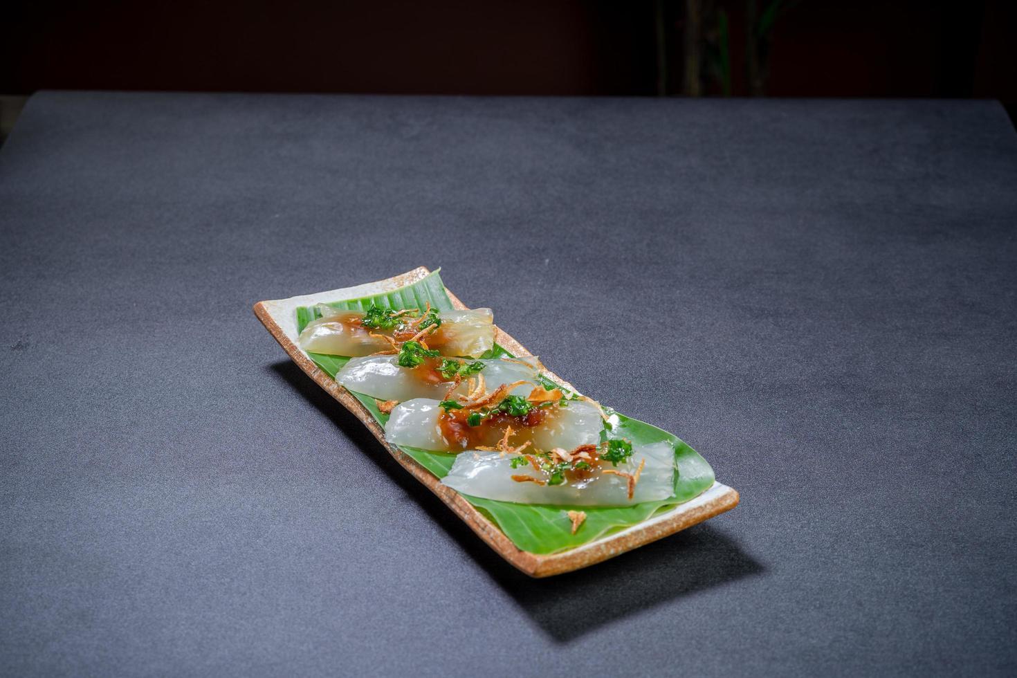 Translucent Vietnamese dumplings photo