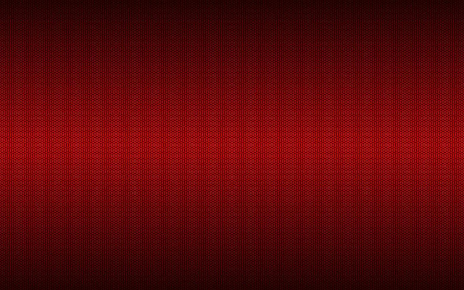 Fondo geométrico rojo moderno de alta resolución con rejilla poligonal. patrón hexagonal metálico oscuro abstracto. ilustración vectorial simple vector