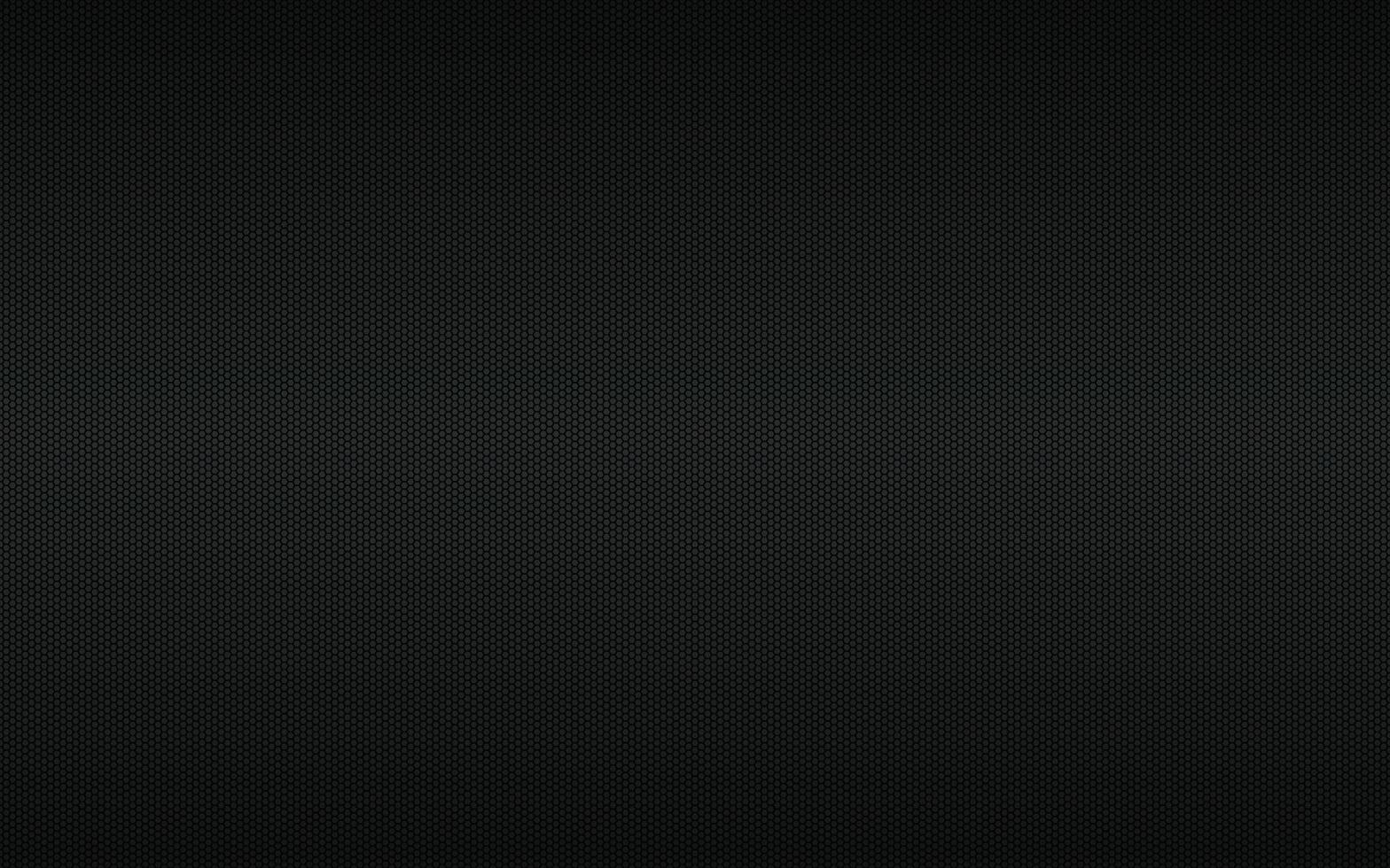 Fondo geométrico negro moderno de alta resolución con rejilla poligonal. patrón hexagonal metálico negro abstracto. ilustración vectorial simple vector