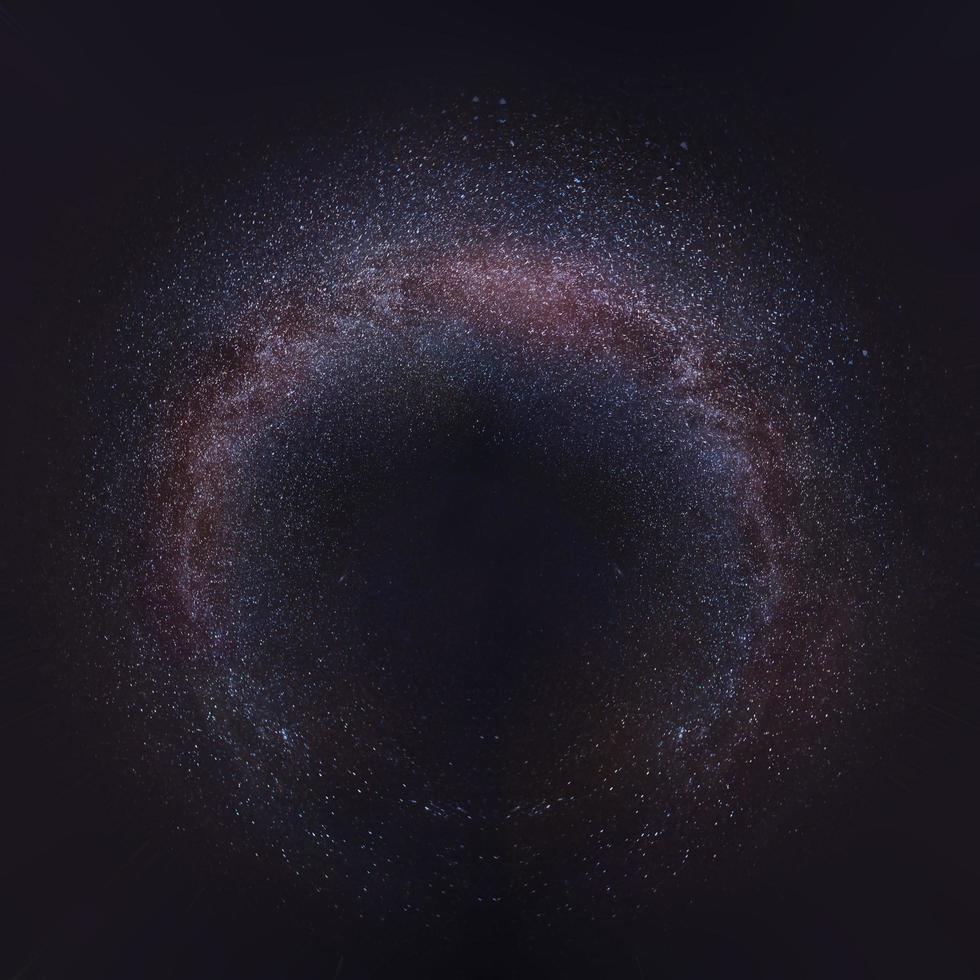 Milky way 360 degrees photo