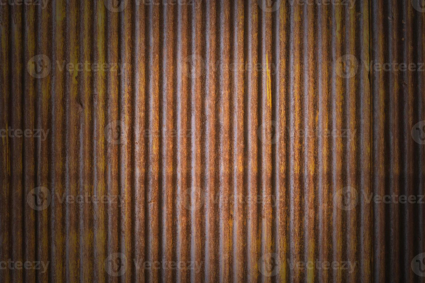 Fondo de pared de textura de zinc grunge marrón foto