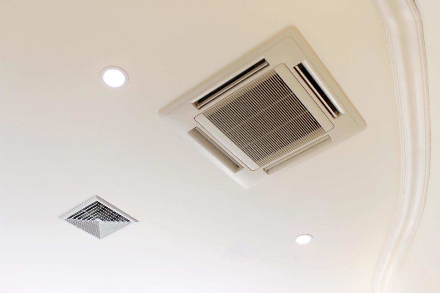 ventilación del aire acondicionado foto