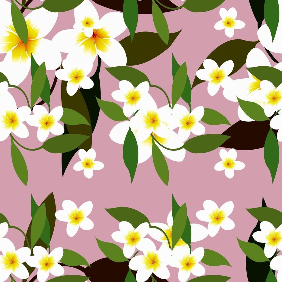 Small Floral Seamless Pattern with Cute Flowers vector