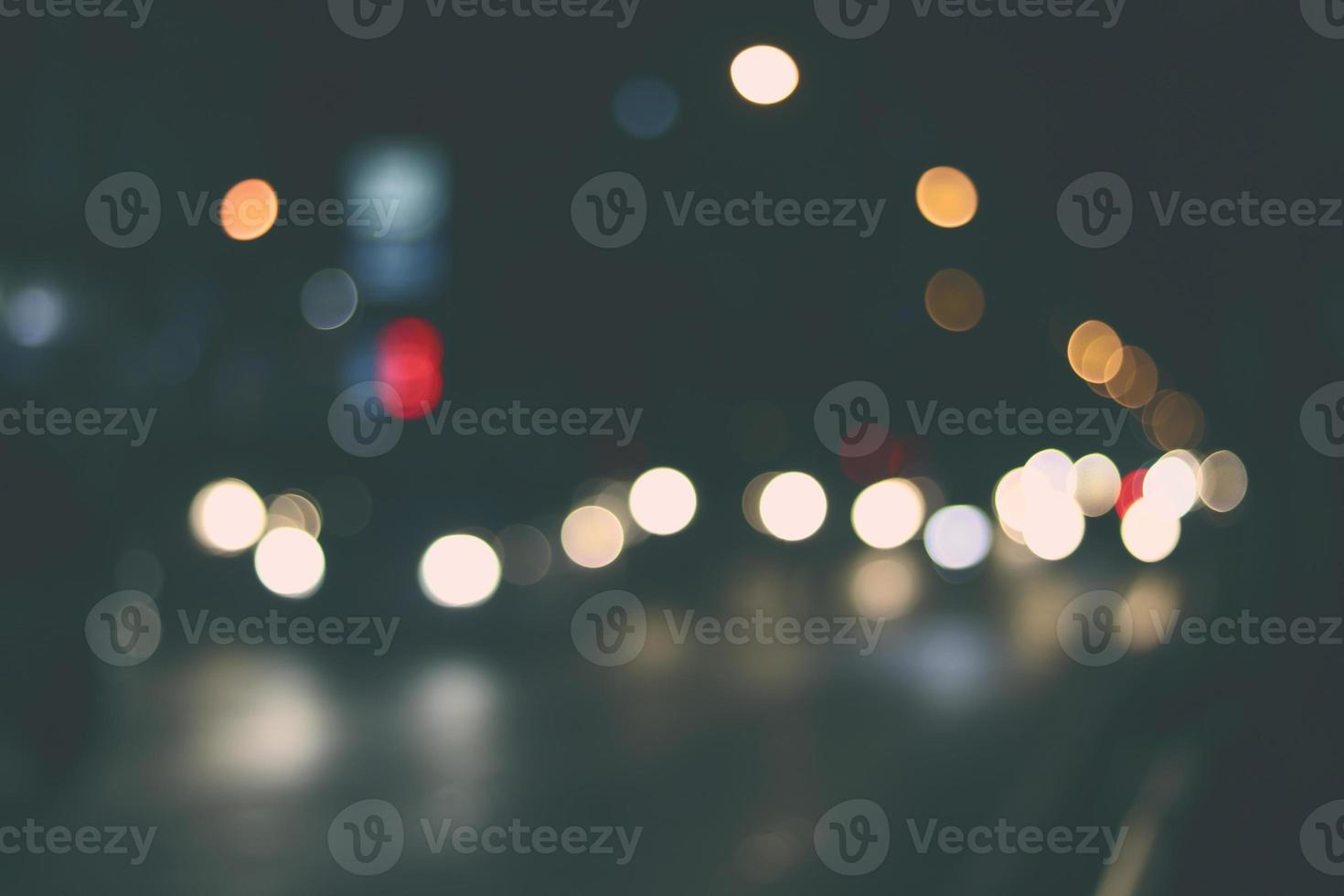 Bokeh of lights photo