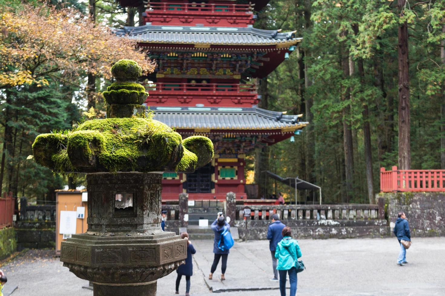 Nikko Toshogu Shrine Temple en Tokio, 2016 foto