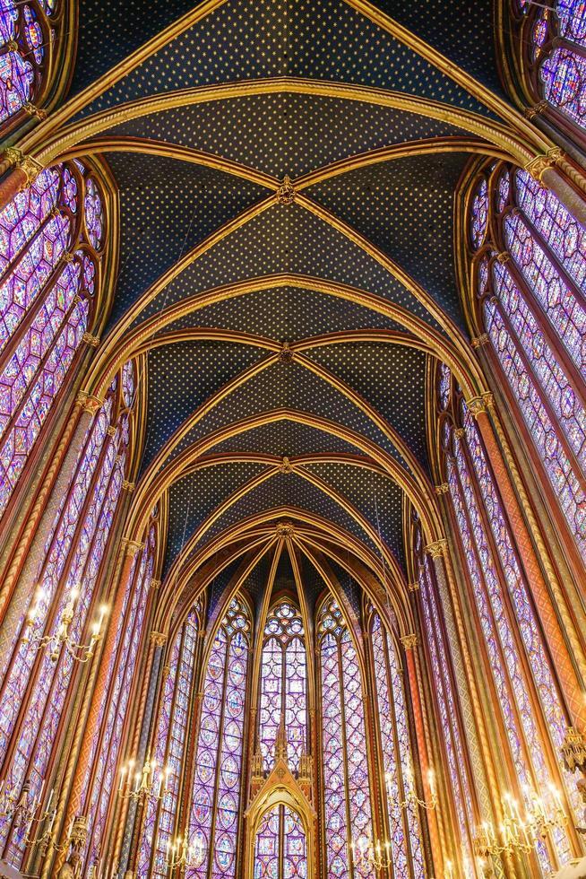 The Sainte Chapelle in Paris, France photo
