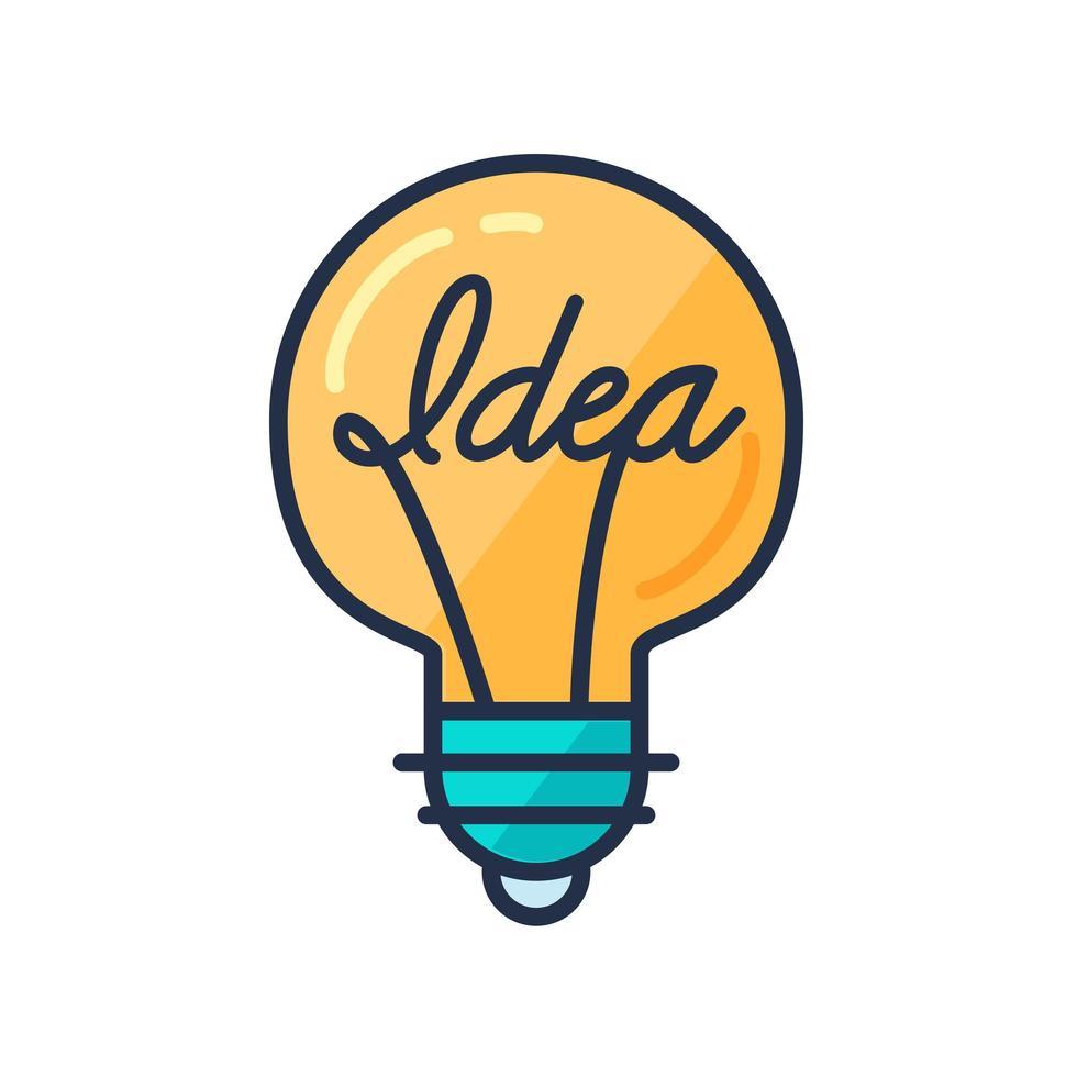 concepto de gran idea vector