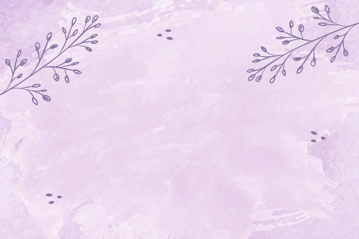 Pastel watercolor wet brush hand drawn background vector