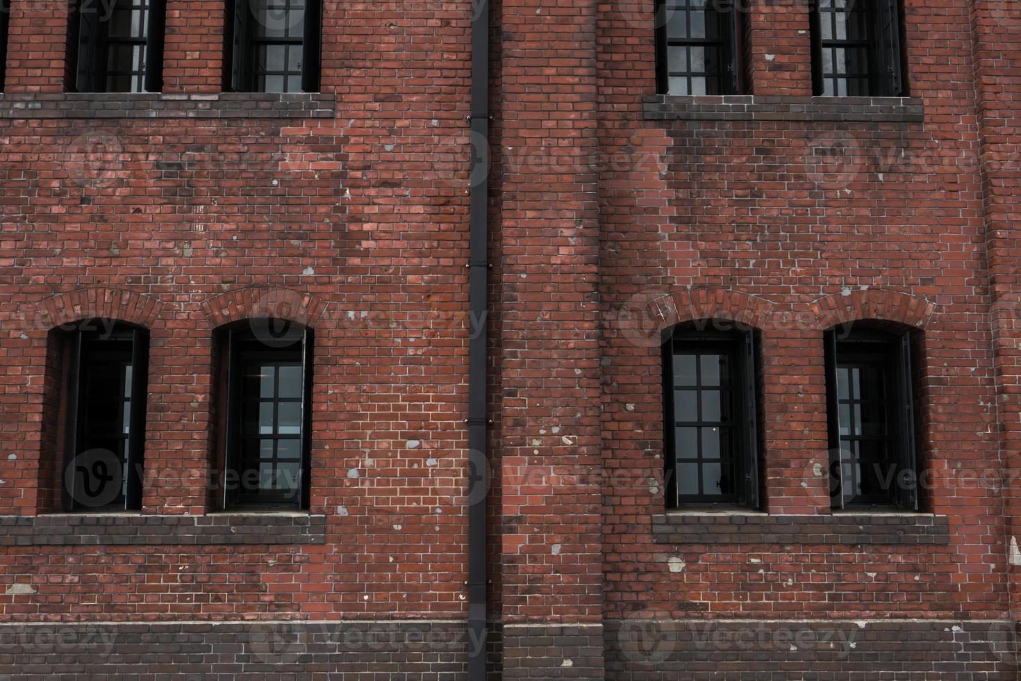 Rustic brick building photo