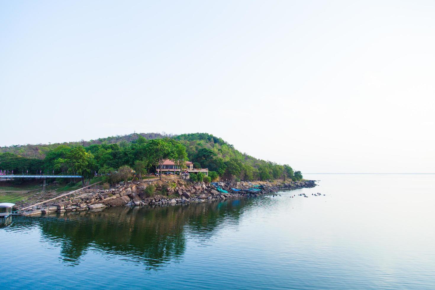lago en tailandia foto
