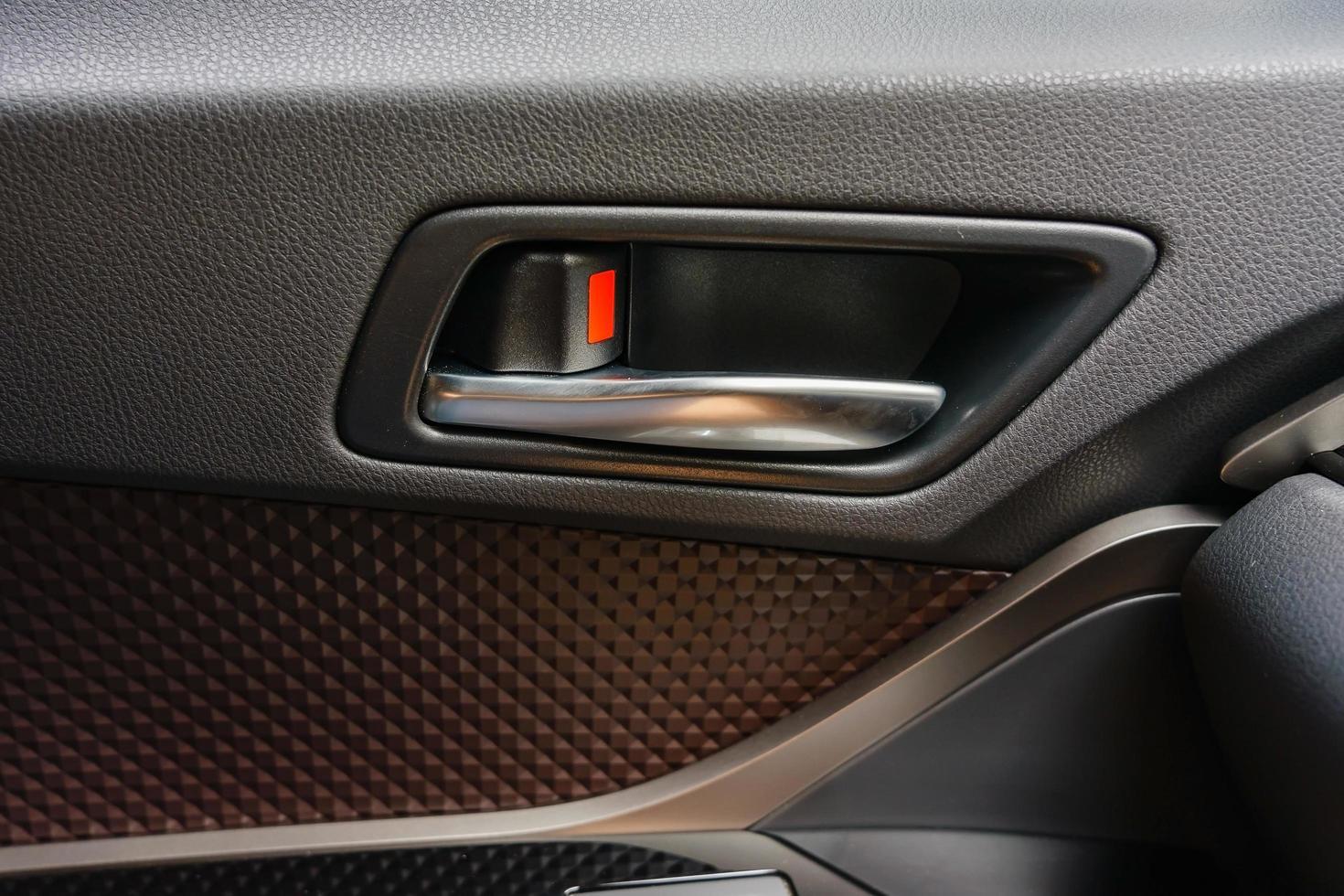 manija de la puerta del coche foto