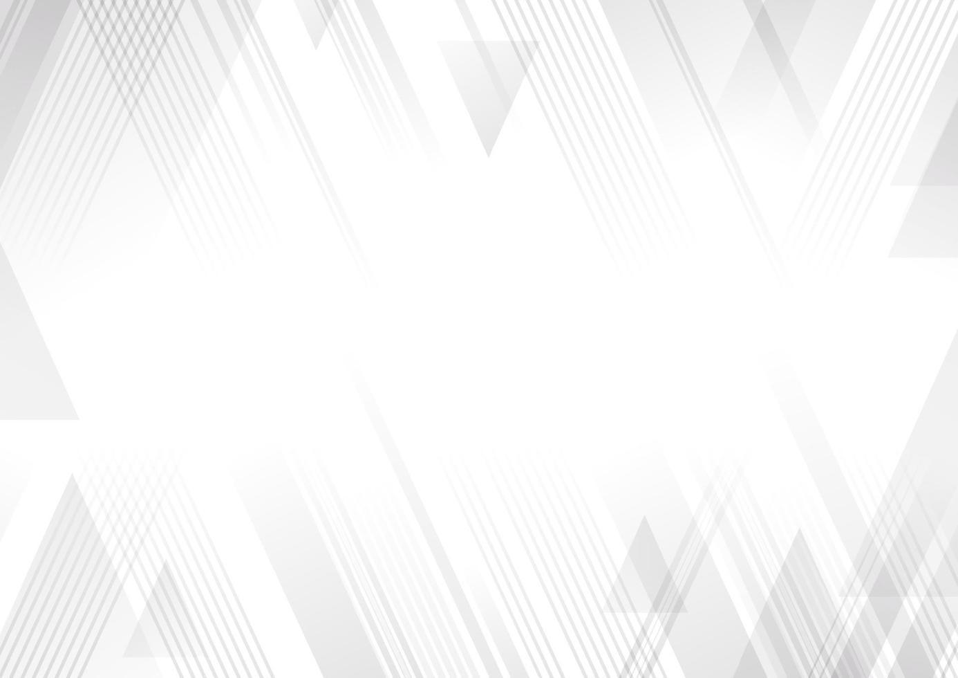 Ilustración de vector de fondo blanco y gris abstracto