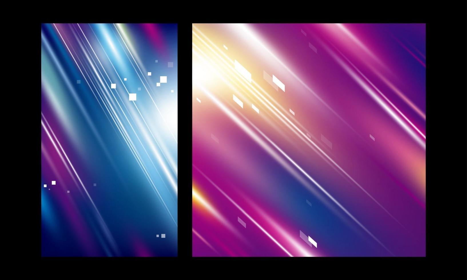 Ilustración de vector de tecnología de velocidad de fondo de color de movimiento abstracto