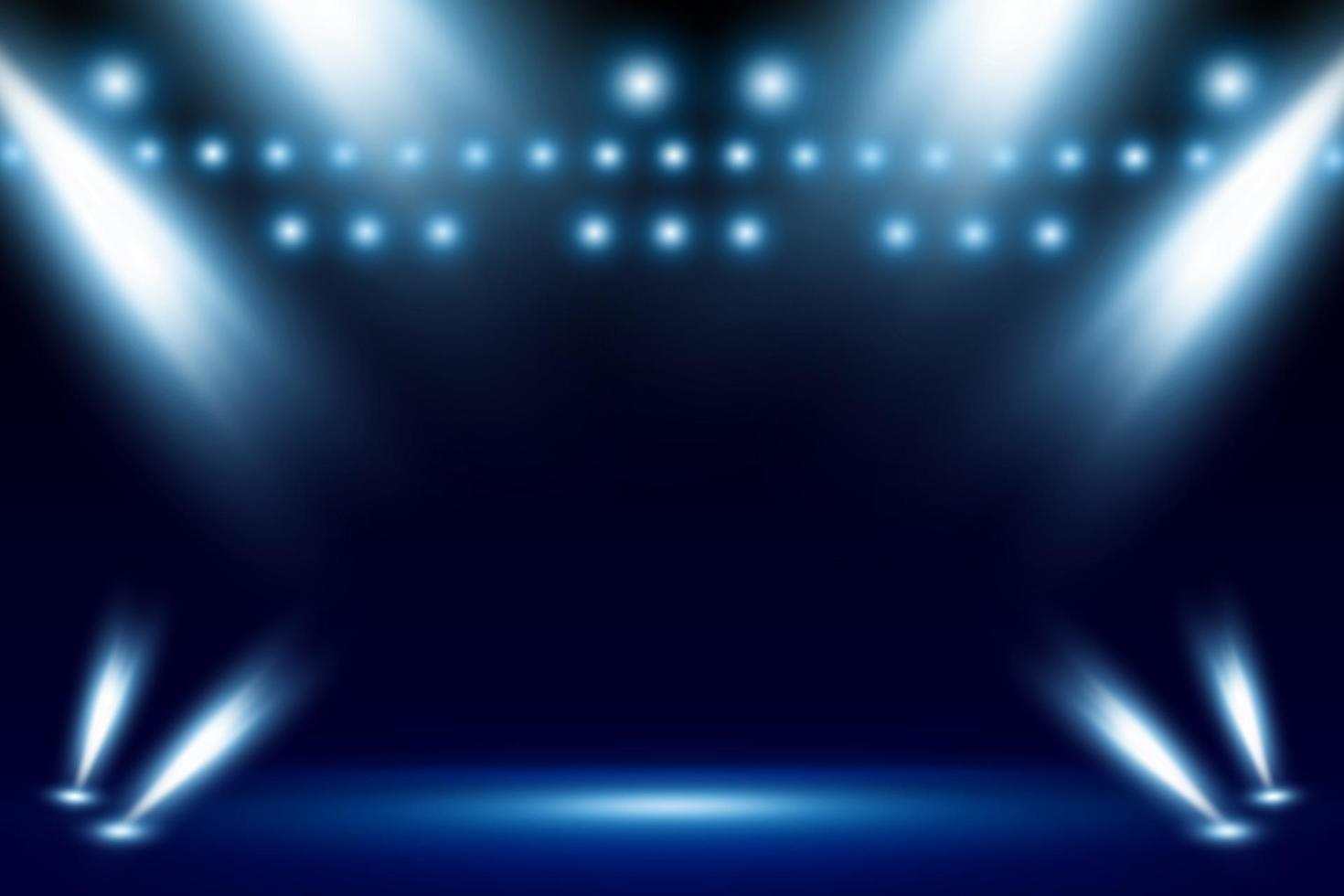 Spotlight background vector illustration
