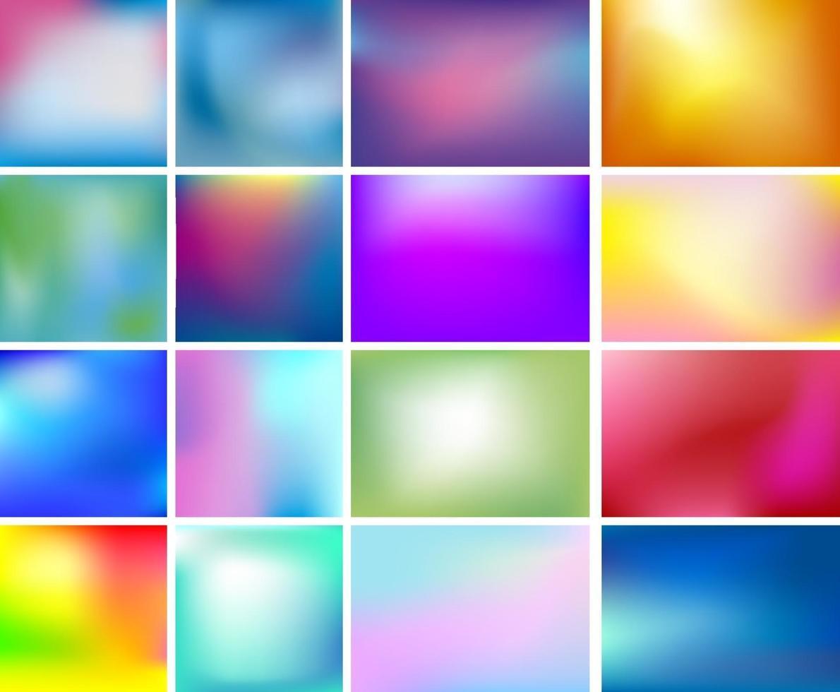 Ilustración de vector de fondo de color borroso abstracto