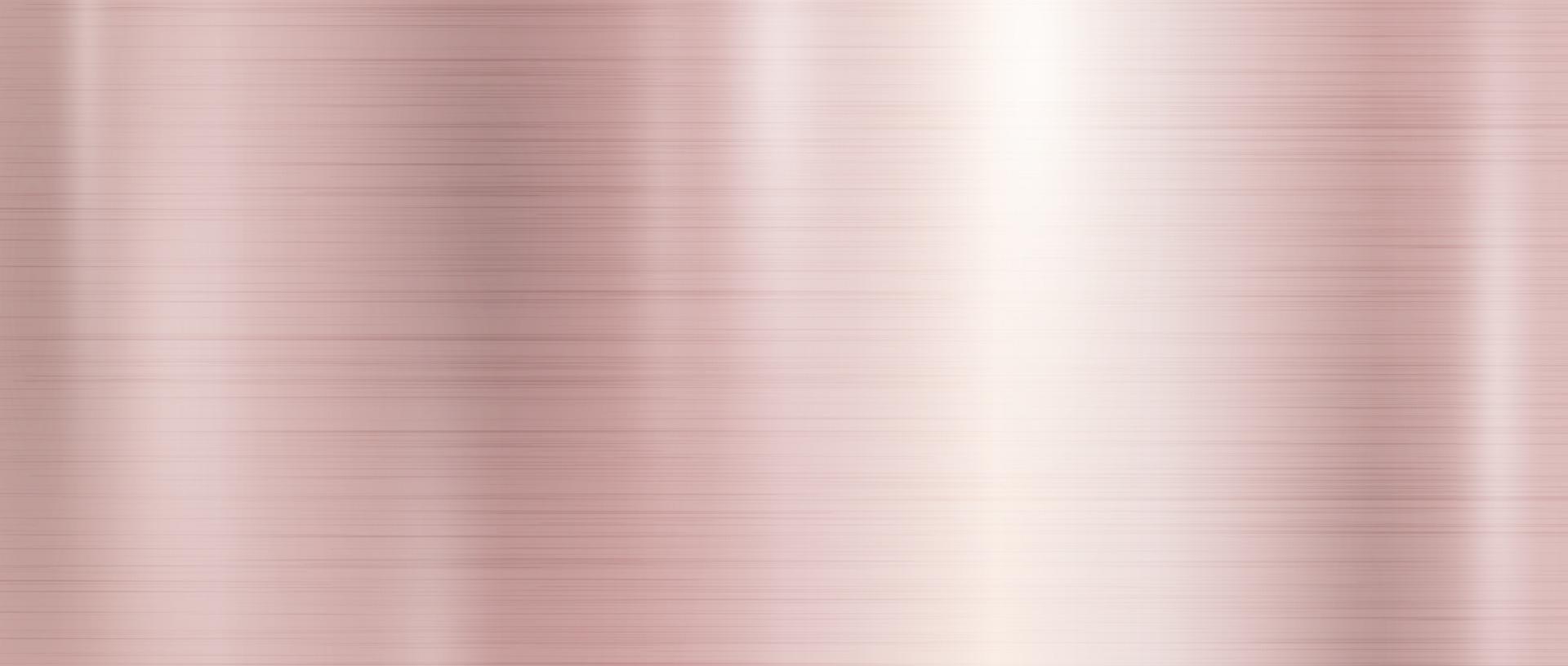 Ilustración de vector de fondo de textura de metal de oro rosa