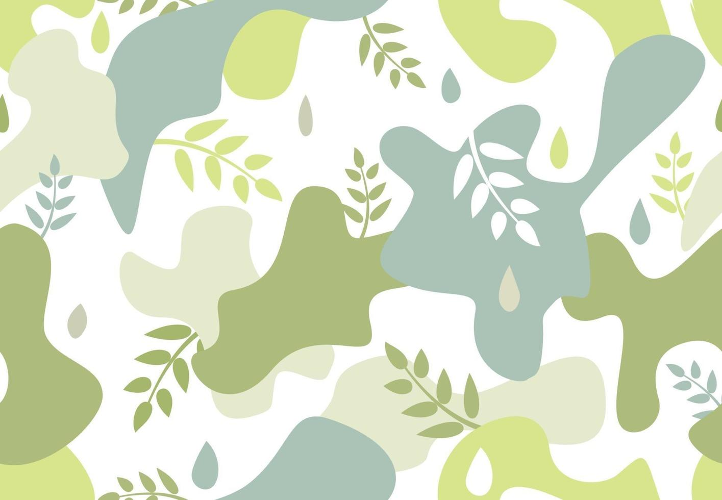 de patrones sin fisuras con manchas de forma orgánica en estilo memphis. vector