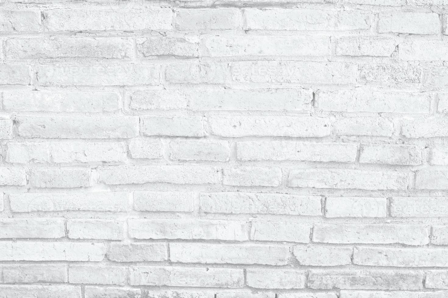 Fondo de textura de pared de ladrillo blanco foto