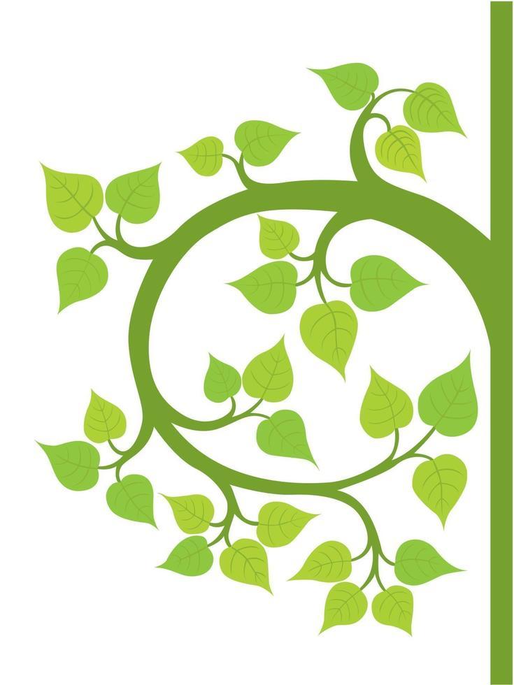 Bodhi Tree illustration graphic vector