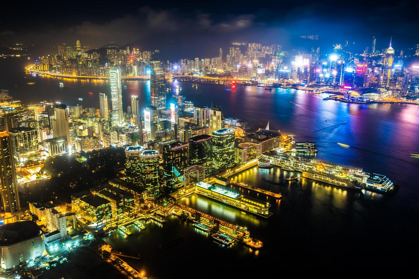 Cityscape of Hong Kong, China photo