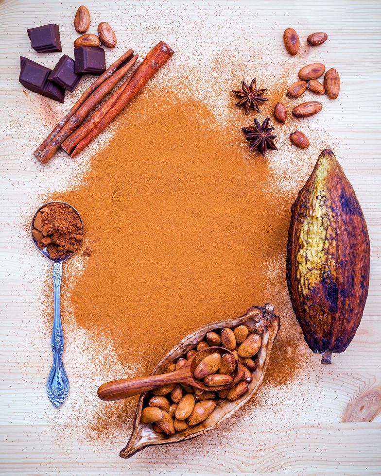 concepto de sabores de otoño foto