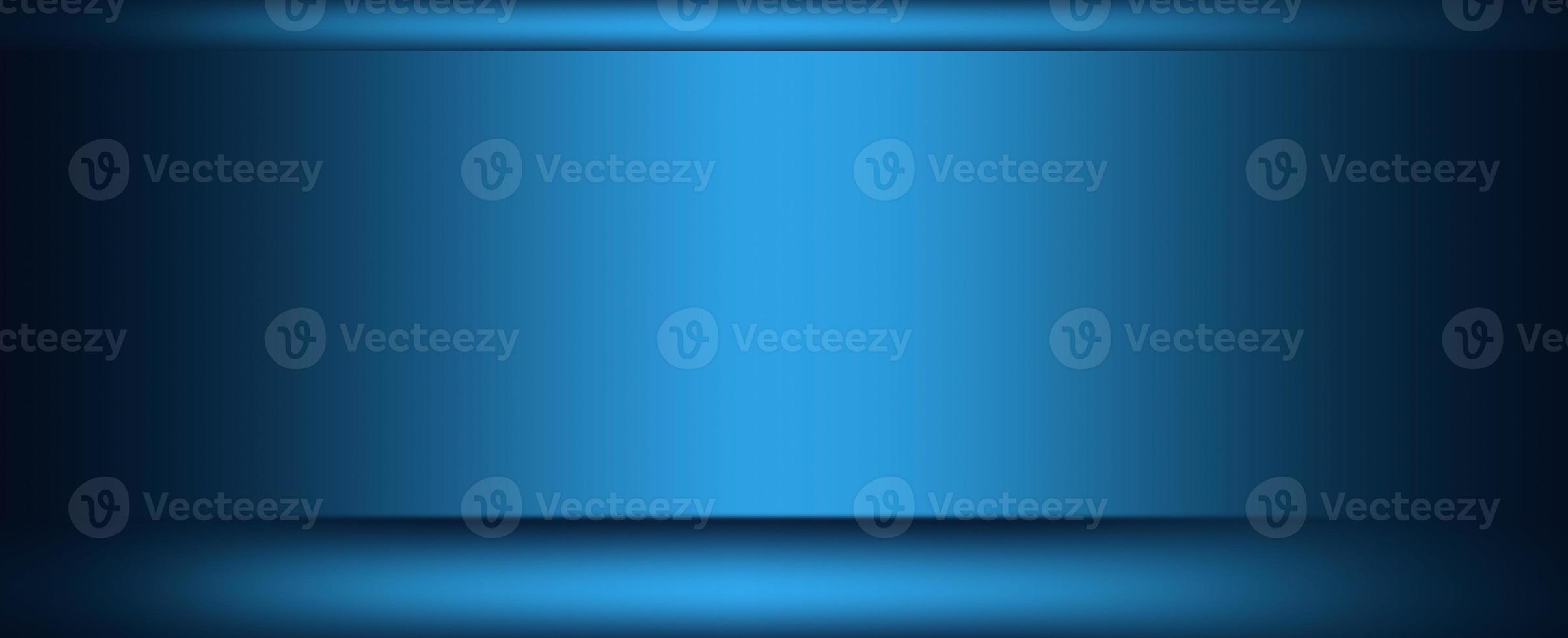 fondo de estudio de pared azul foto
