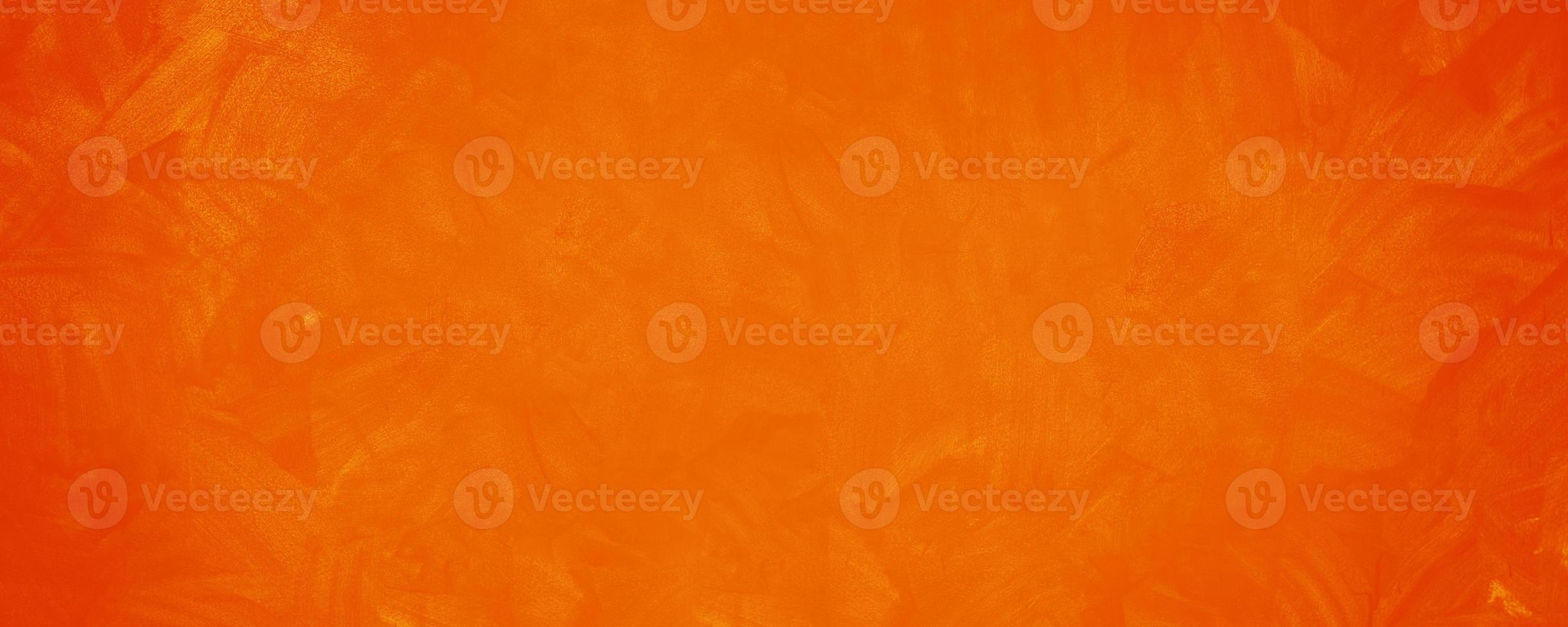 Dark orange cement texture wall background photo