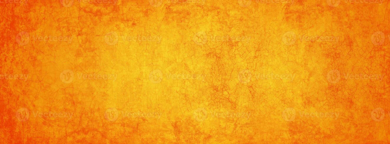 banner amarillo y naranja foto
