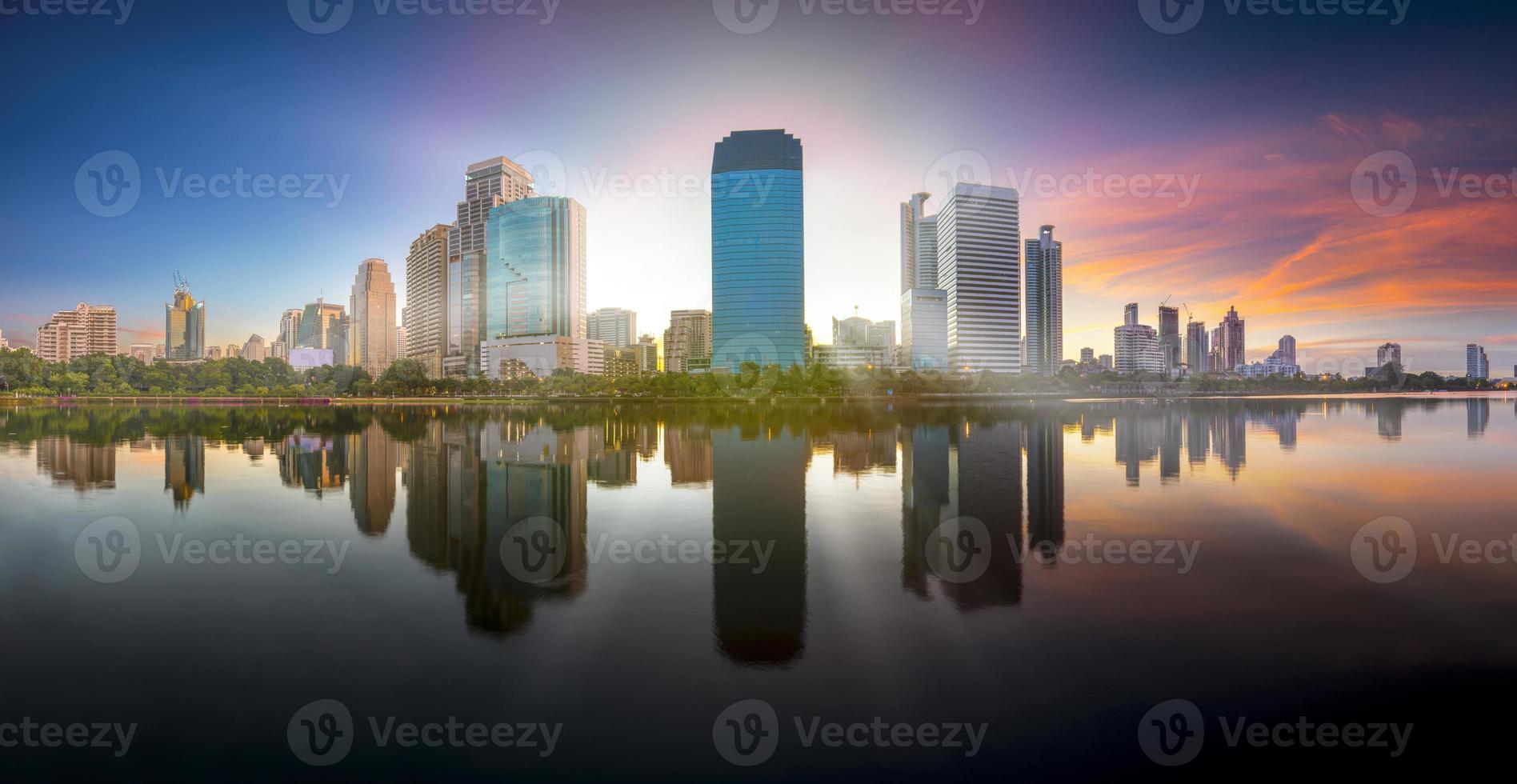 Bangkok city scape view photo