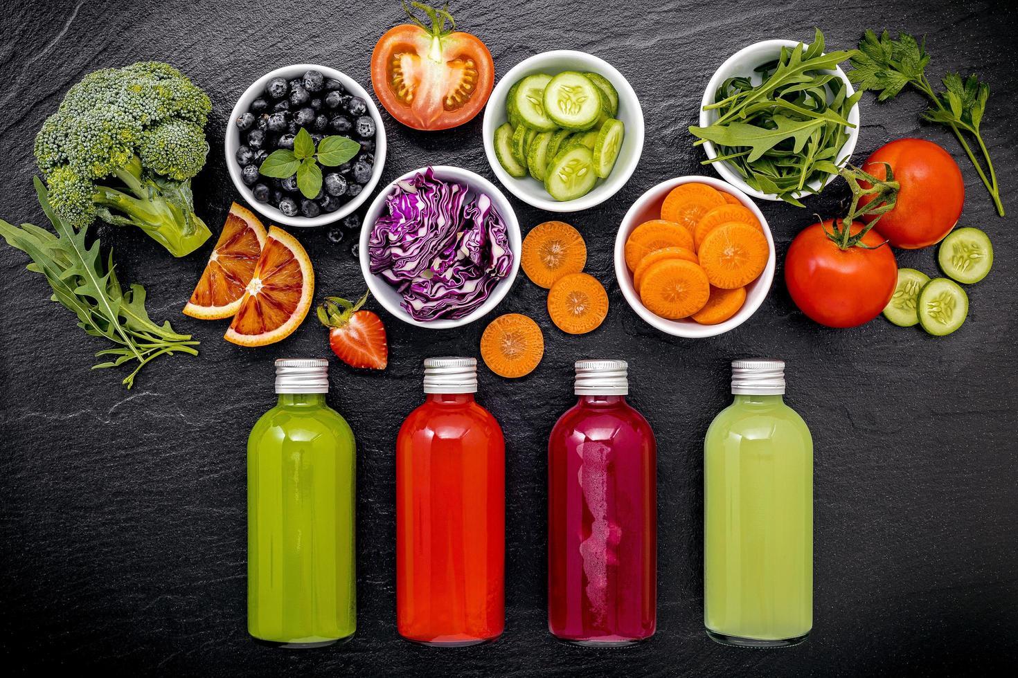 Fresh juice concept photo