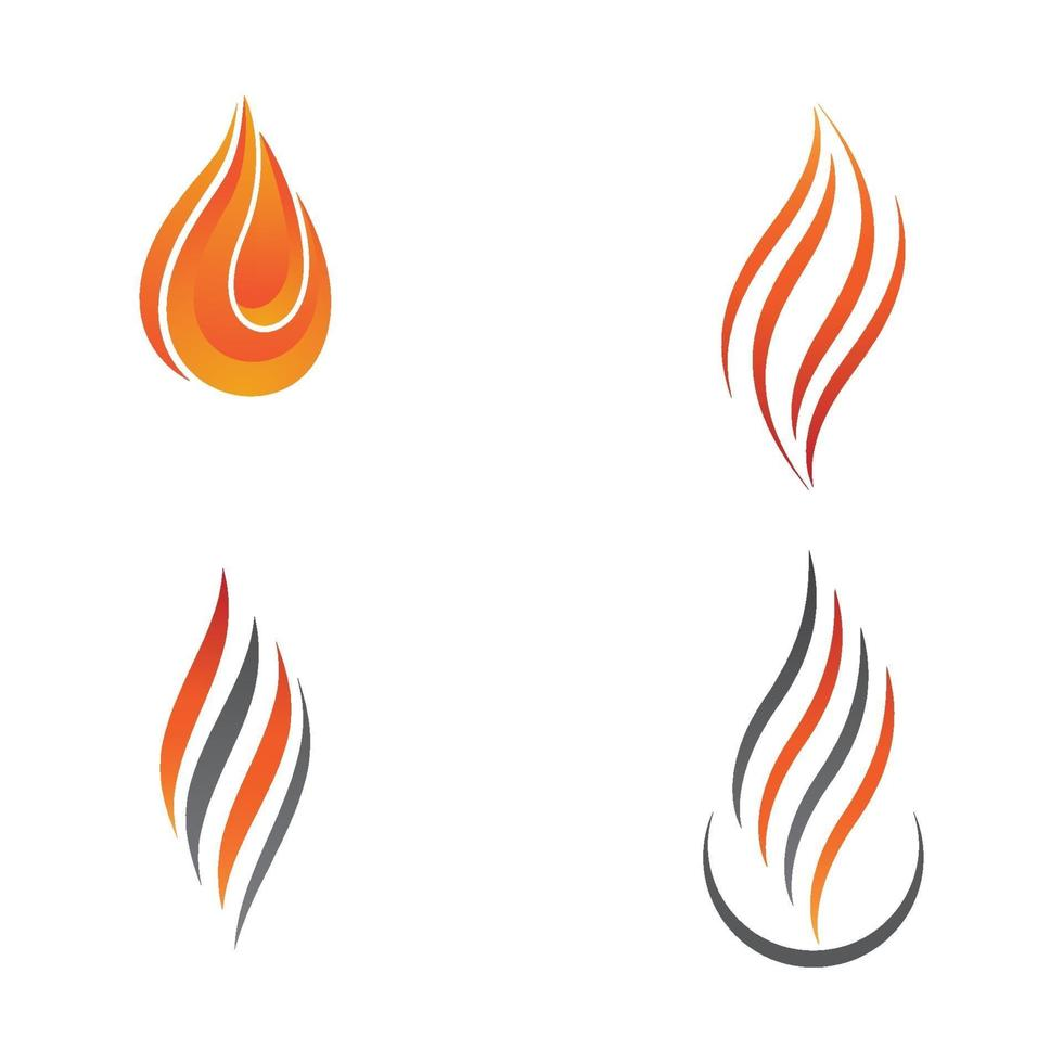Fire logo images vector