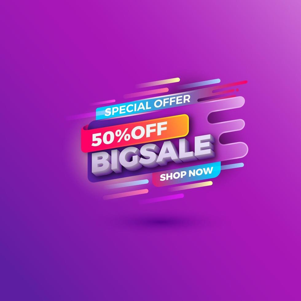 special offer banner sale promotion web market poster vector file
