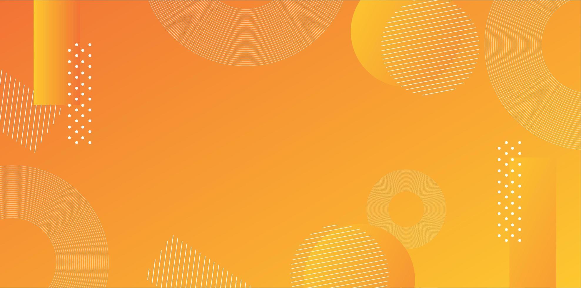 diseño de vector de fondo degradado amarillo naranja