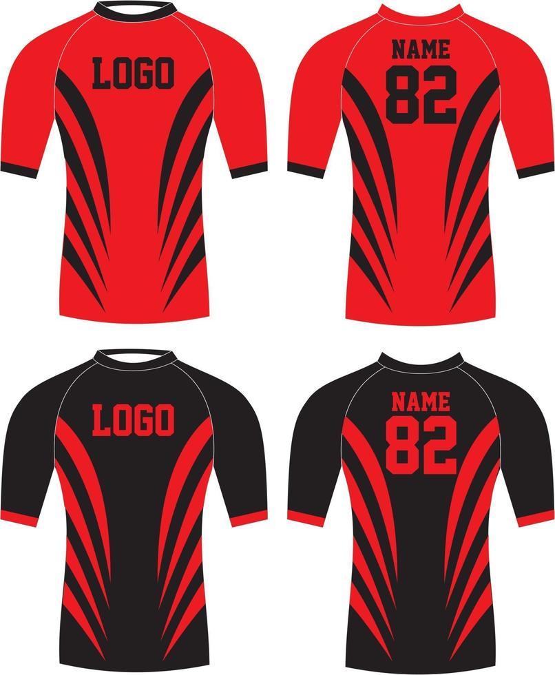 Jersey deportivo de uniforme de baloncesto de diseño personalizado vector