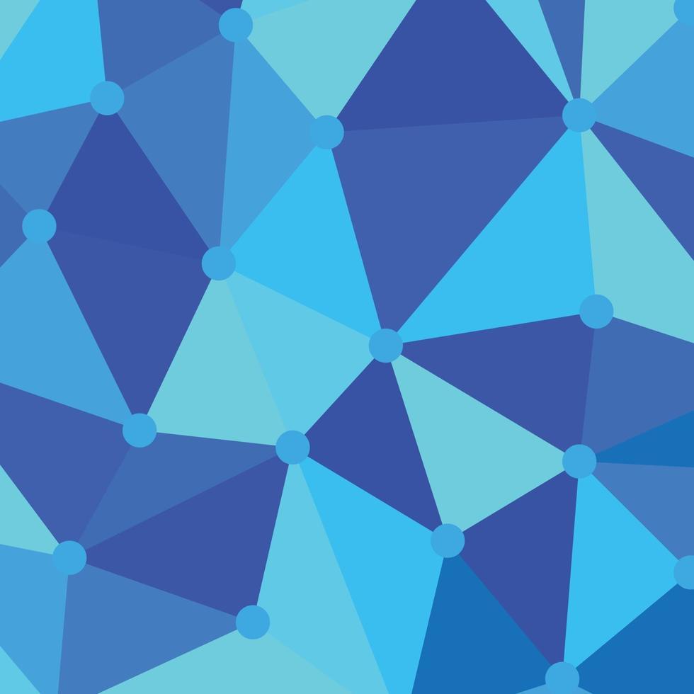 patrón geométrico azul perfecto para el fondo de presentación vector