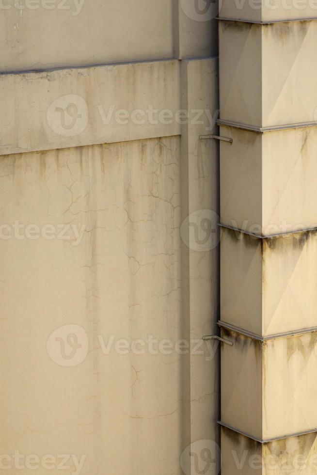 esquina del edificio moderno foto