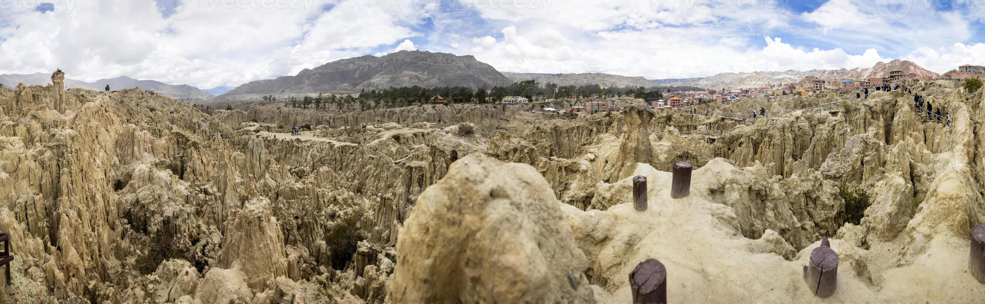 valle de la luna en bolivia foto