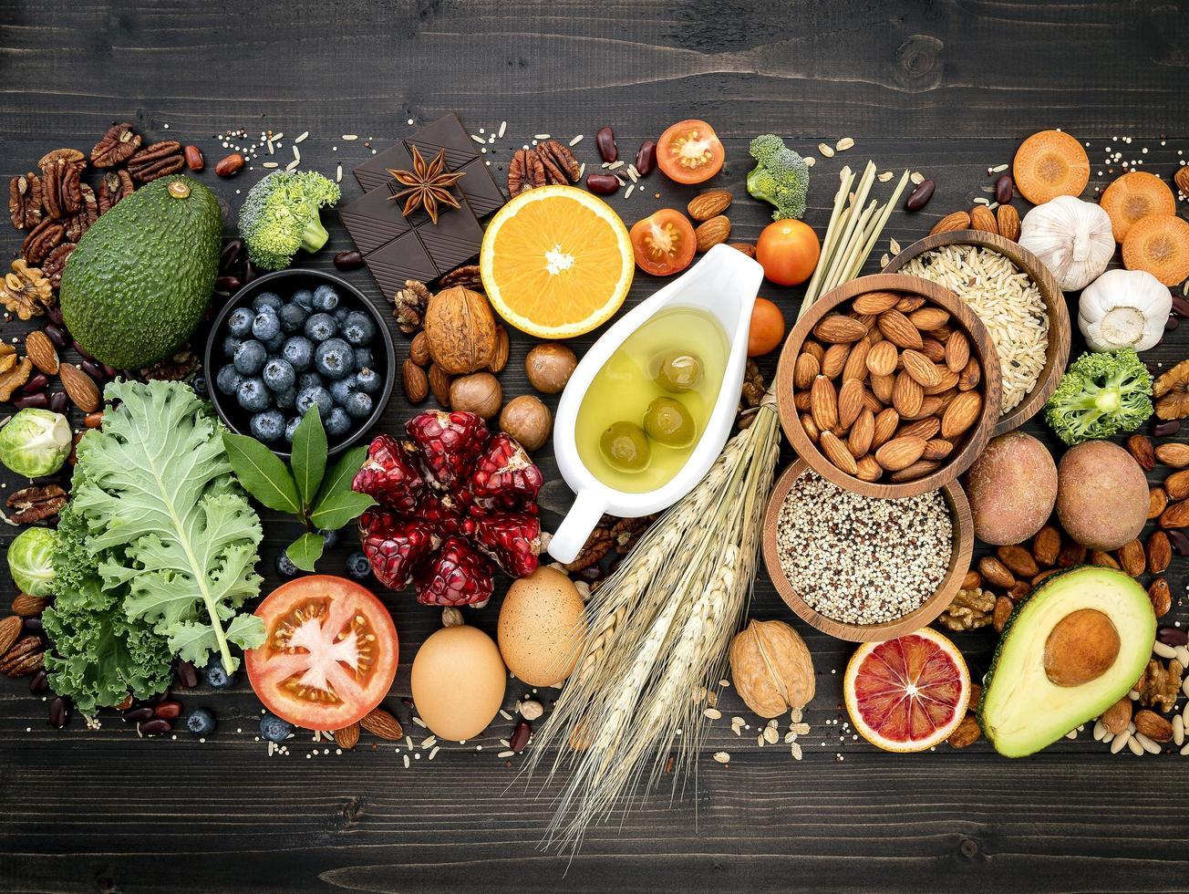Healthy diet foods photo