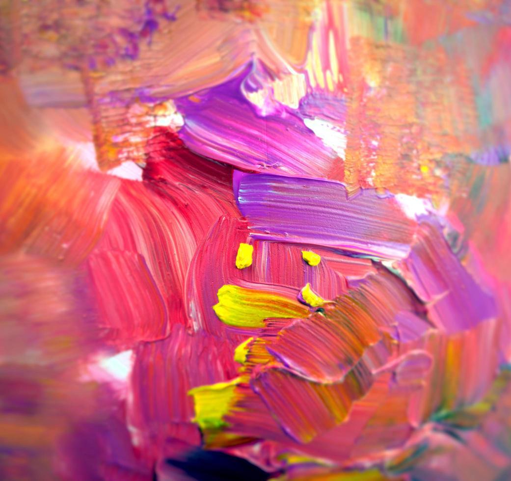 Fondo irregular vívido abstracto borroso foto