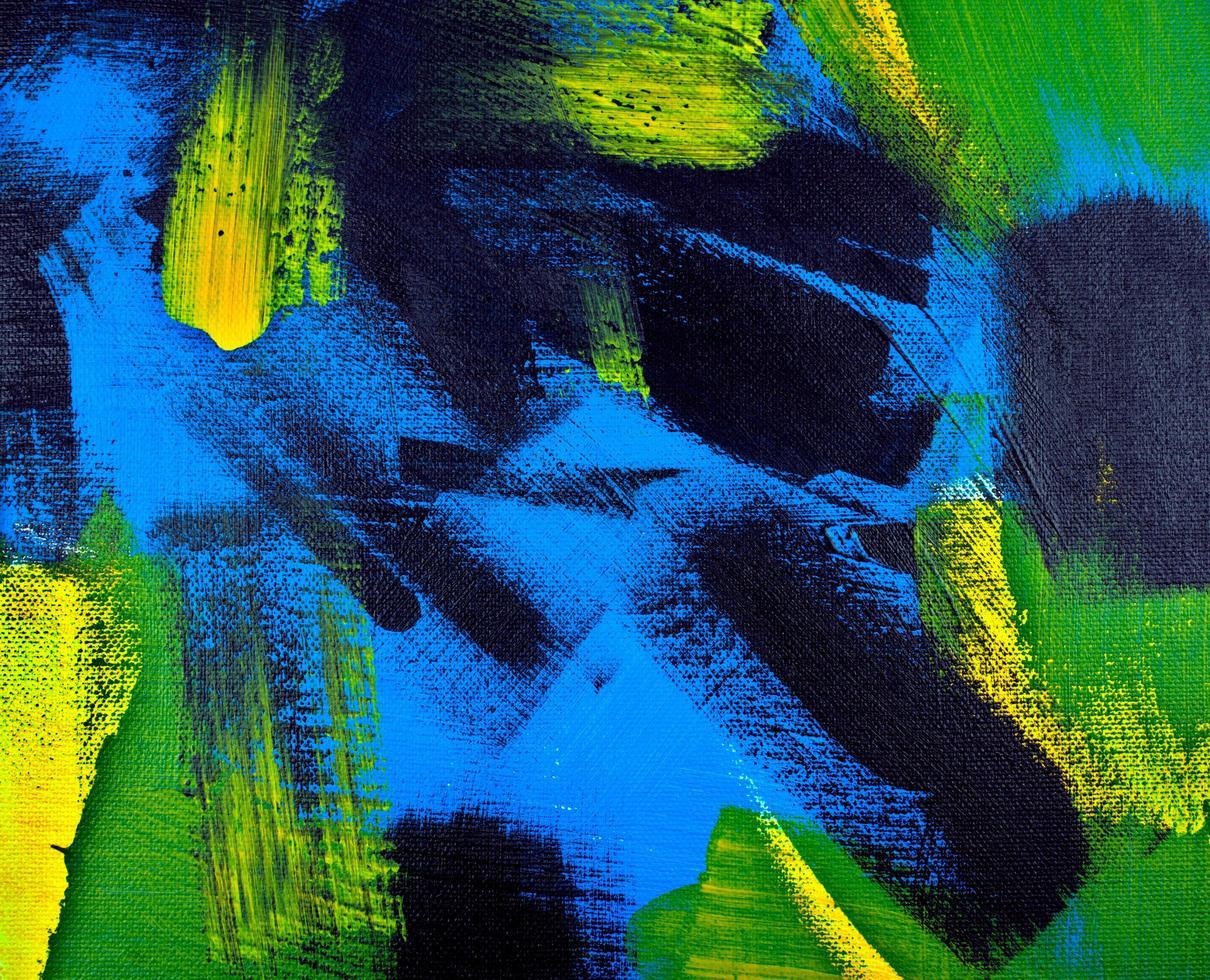 Fondo de colores acrílicos abstractos foto