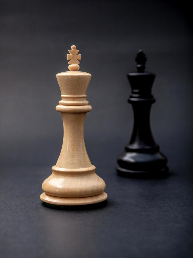 Two chess pieces photo