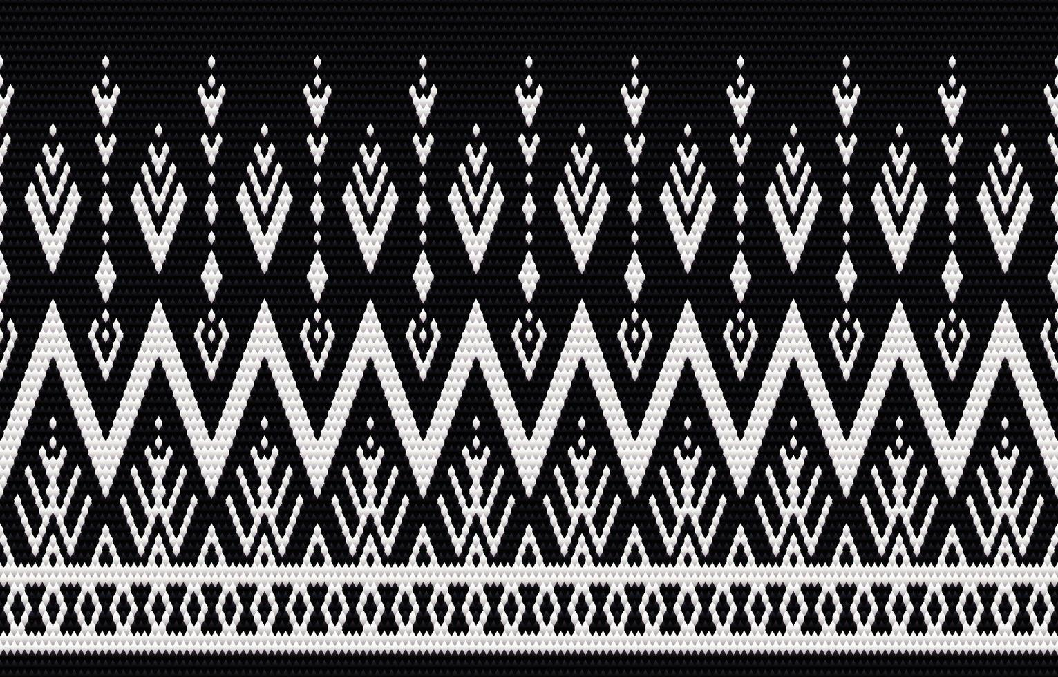 Geometric ethnic pattern embroidery and traditional design. Tribal ethnic vector texture. Design for carpet, wallpaper, clothing, wrapping, batik, fabric in embroidery style in Ethnic themes.